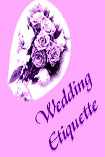 Wedding Etiquette  Tips - screenshot