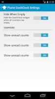 Screenshot of Plume extension for DashClock