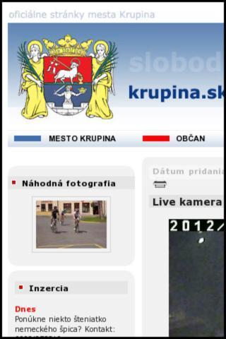 玩旅遊App|I LOVE KRUPINA免費|APP試玩