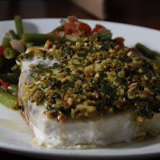 Swordfish With Almond Crust