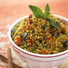 Quinoa with Butternut Squash, Cinnamon and Mint