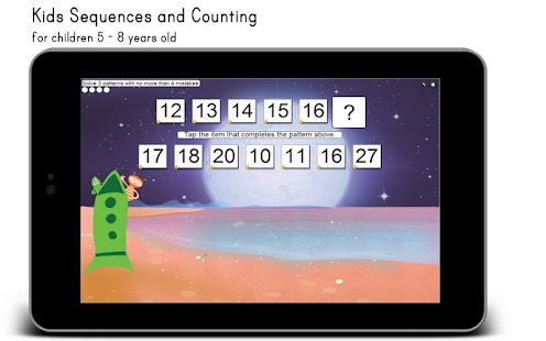 Kids Sequences and Counting - screenshot