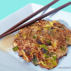 Japanese Negi (leek) Patties