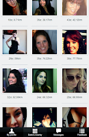 Screenshot of #1 Dating/Flirt app on Android