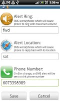 Screenshot of Phone Finder (Trial)