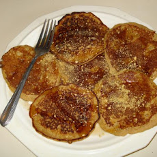 Whole Wheat Graham Cracker Pancakes