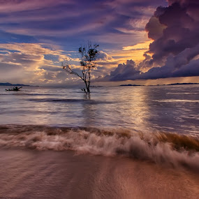 Distortion by Moh Maulana Lana - Landscapes Waterscapes