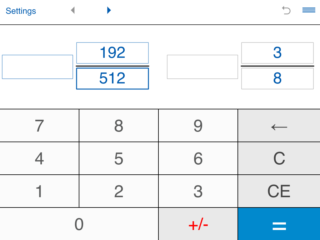 Free online fraction calculator with variables and fractions