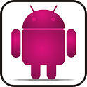 Droid pink glow doo-dad icon
