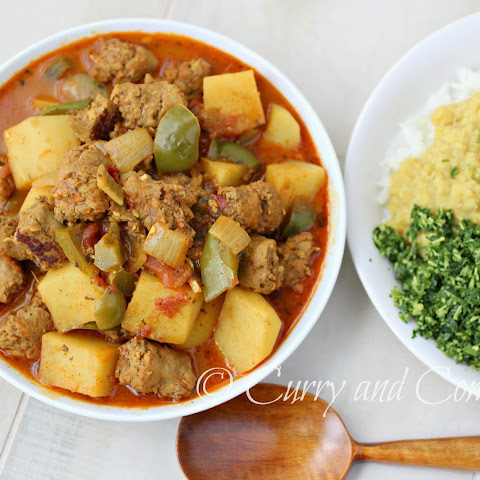 Sausage and Potato Curry (Throwback Thursday)