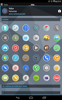 Screenshot of Velur - Icon Pack