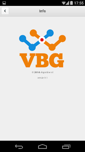 VBG online - screenshot