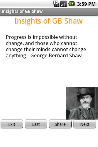 George Bernard Shaw Wisdom