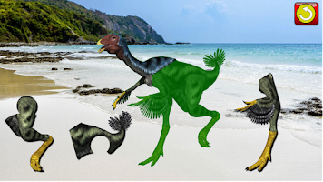 Screenshot of Kid's Dinosaur Jigsaw Puzzles