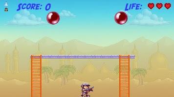 Screenshot of Bubble Trouble Pop (Pang 1989)