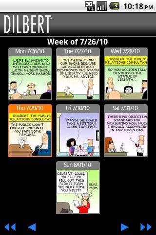 【免費漫畫App】Dilbert Mobile-APP點子