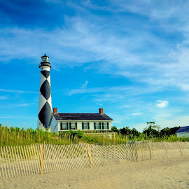 Cape Point Lighthouse by Steve Stepp - Travel Locations Landmarks ( outer banks, lighthouse, north carolina, cape point )