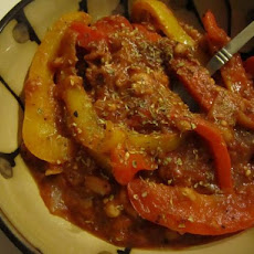 Bell Pepper Bean Stew