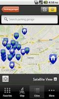 Screenshot of ADAC ParkInfo