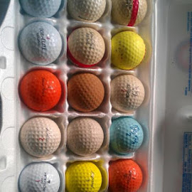 Thought I would Show you my BALLS. by Paul Guzewicz - Sports & Fitness Golf