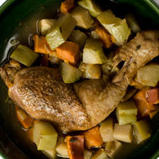 Spicy Chicken and Chayote Jamaican Stew Recipe