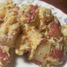 Crock Pot Creamy Cheesy Red Potatoes