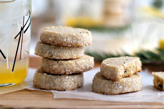 Rosemary Lemon Shortbread Cookies Recept | Yummly