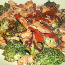 Stir Fry Chicken and Broccoli