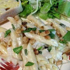 Gorgonzola Pear and Walnut Pasta