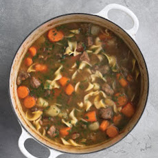 Beef Stew with Noodles