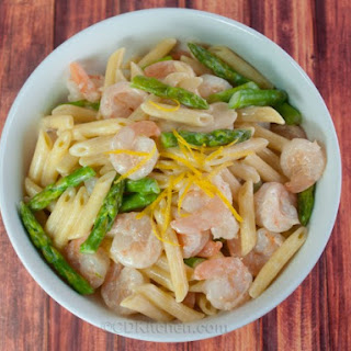 Shrimp And Pasta Stir-Fry