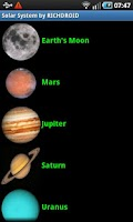 Screenshot of Solar System