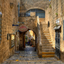 Jaffa Old City by Łukasz Sowiński - Buildings & Architecture Public & Historical