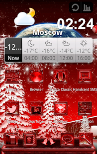 NEXT LAUNCHER THEME CHRISTMAS - screenshot