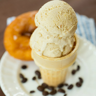 Coffee and Doughnuts Ice Cream