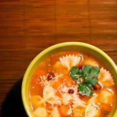 Rustic Winter Minestrone Soup