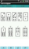 Screenshot of Logical test - Reasoning - IQ
