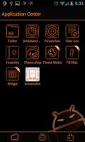 Screenshot of GOSMS SunsetOrange Theme -Free