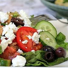 Easy Greek-Inspired Salad