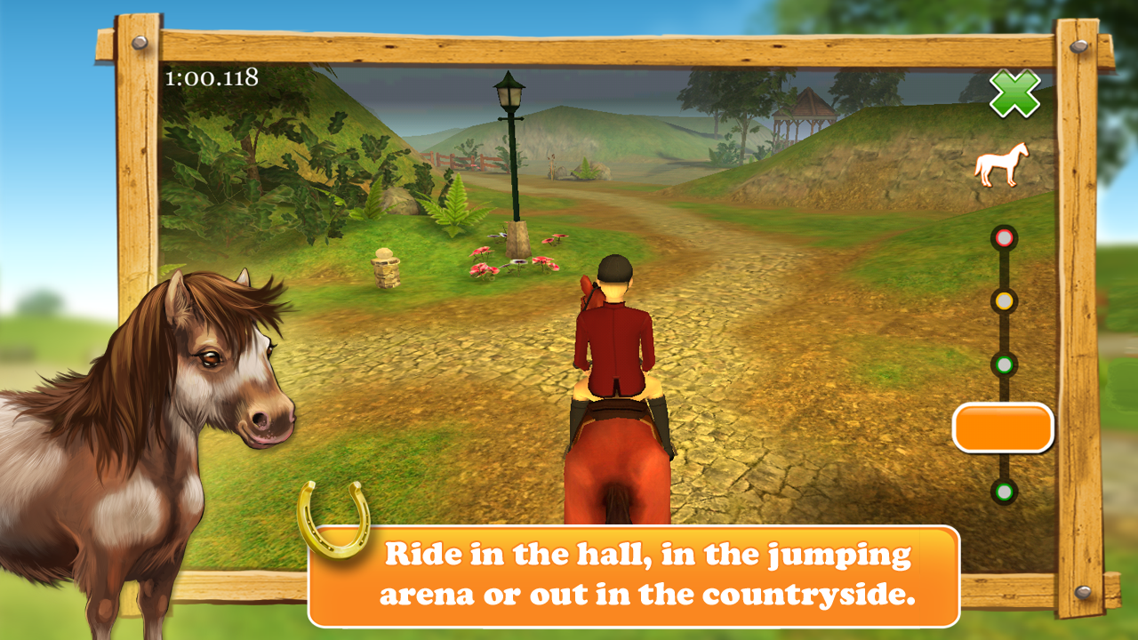 HorseWorld 3D LITE Screenshot 2