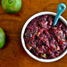 Blueberry Lime Salsa