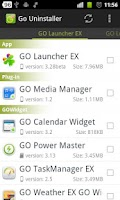 Screenshot of Go Uninstaller