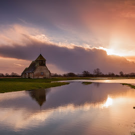 Fairfield Church by George Johnson - Landscapes Waterscapes (  )