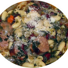 Minestrone Soup with Sausage