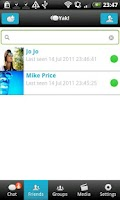 Screenshot of Yak Messenger