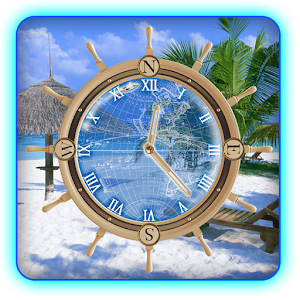 app my beach clock live wallpaper apk for windows phone