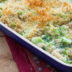 Cheesy Broccoli Rotini Casserole