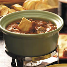 Ground Beef Pizza Fondue