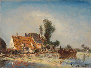 RIJKS: Johan Barthold Jongkind: painting 1874