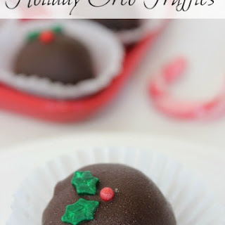 Holiday Oreo Truffles